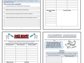 Demon Dentist KS2 Comprehension Activities Booklet!