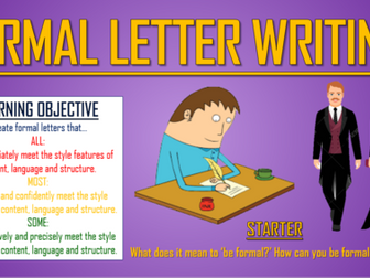 Formal Letter Writing!
