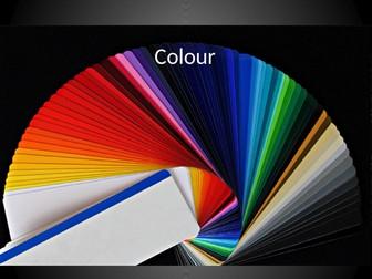 English: Colour Connotations
