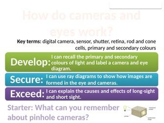 8Jd Cameras and eyes (Exploring Science)