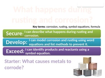 8Gb Corrosion (Exploring Science)
