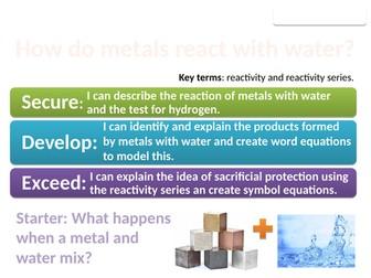 8Gc Metals and water (Exploring Science)