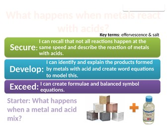 8Gd Metals and acids (Exploring Science)
