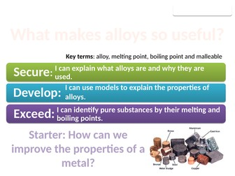8Ge Pure metals and alloys (Exploring Science)