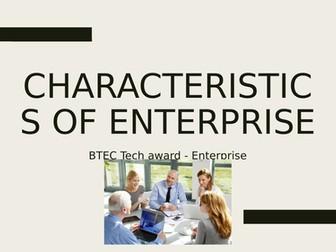 BTEC Tech Award in Enterprise