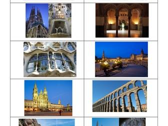 Spanish A Level el impacto turístico en España: reading comprehension on popular tourist sites