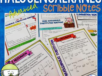 Halogenoalkanes Scribble Notes (Advanced)