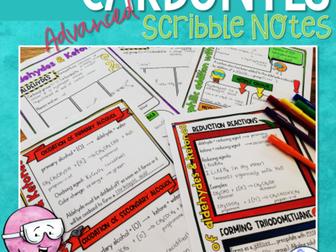 Carbonyl Compounds Scribble Notes (Advanced)