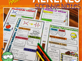 Alkenes Scribble Notes (Advanced)