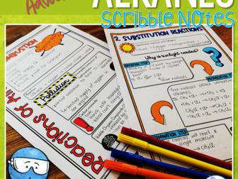 Alkanes Scribble Notes (Advanced)