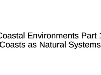 NEW A-Level Geography: Coastal Environments