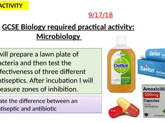 AQA new specification-REQUIRED PRACTICAL 2-Microbiology-B5