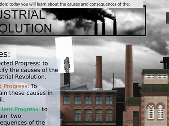 The Industrial Revolution : Causes & Consequences .