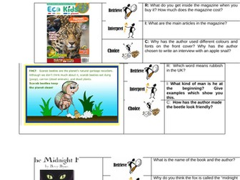 Guided Reading with Ric Starters