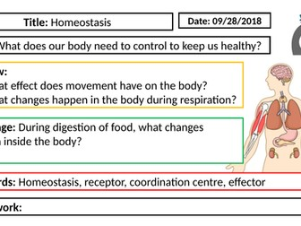 AQA GCSE Biology New Specification - B5 Homeostasis