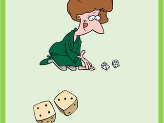 Activities Dice game