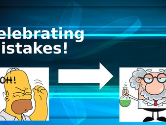 Celebrating mistakes Primary Assembly