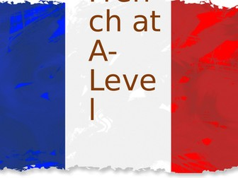 French at A-Level