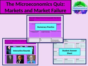 Economics Quiz - A Level Economics, GCSE Economics