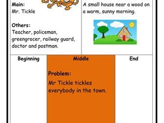 Mr Men - Mr Tickle Story Log