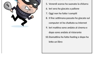 KS3 (beginner) Italian - Talking in the passato prossimo (hobbies and opinions)