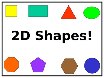 2D Shapes - PowerPoint