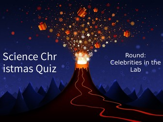 Science Christmas Quiz 2018