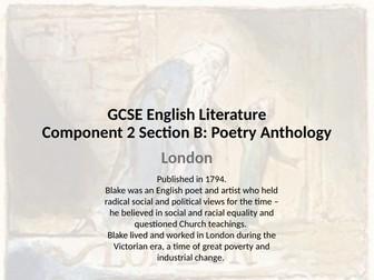 WJEC GCSE Anthology: London