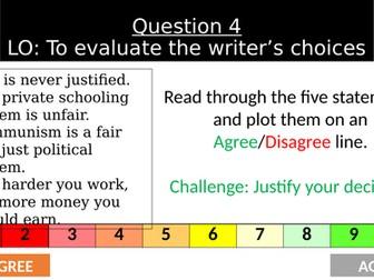 Language Paper 1 - Question 4