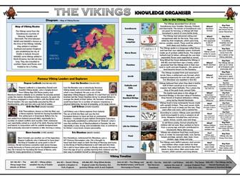 The Vikings Knowledge Organiser/ Revision Mat!