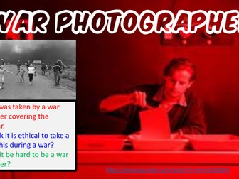 War Photographer for Power and Conflict