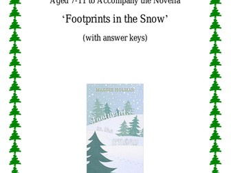 'Footprints in the Snow': Christmas Activity Pack
