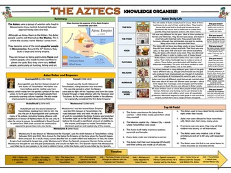 The Aztecs Knowledge Organiser/ Revision Mat!