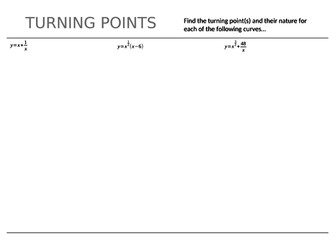 Polynomial Turning Points