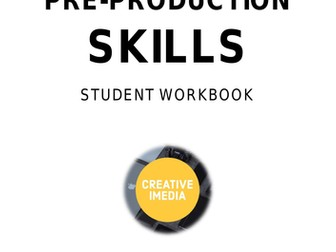 Creative iMedia R081 Student Workbook - 32 pages of pre-production skills activities