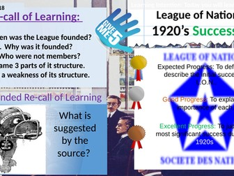League of Nations: successes in the 1920s