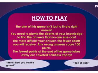 Jane Eyre Pointless Game!