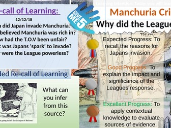 Manchuria:  Why / How did the League of Nations fail?