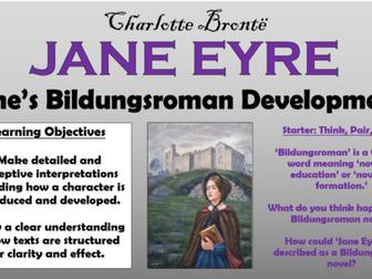 Jane Eyre - Jane's Bildungsroman Development!
