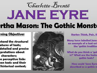 Jane Eyre - Bertha Mason: The Gothic Monster!