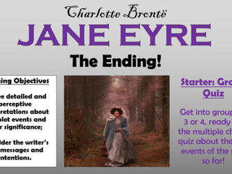 Jane Eyre  - The Ending!