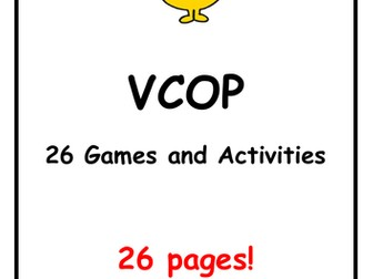 VCOP Games and Activities Pack ... 110 in total!!