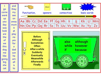 2 Writing mats to use in Literacy - ideal for younger learners!