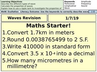 AQA Physics - Wave Revision Lesson