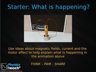 GCSE 9-1 AQA Physics 4.7 - Generator Effect
