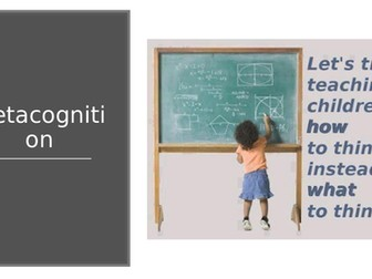 Metacognition CPD
