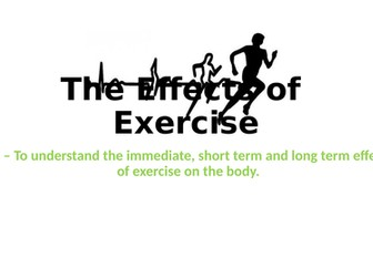 AQA GCSE PE The Effects of Exercise