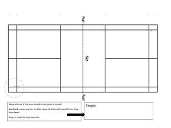 Badminton Peer Assessment