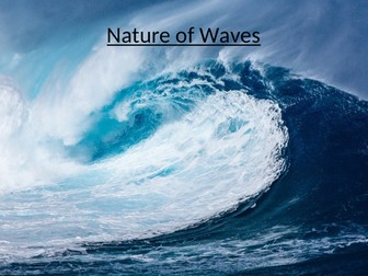 Nature of Waves
