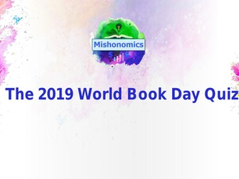 The 2019 World Book Day Quiz